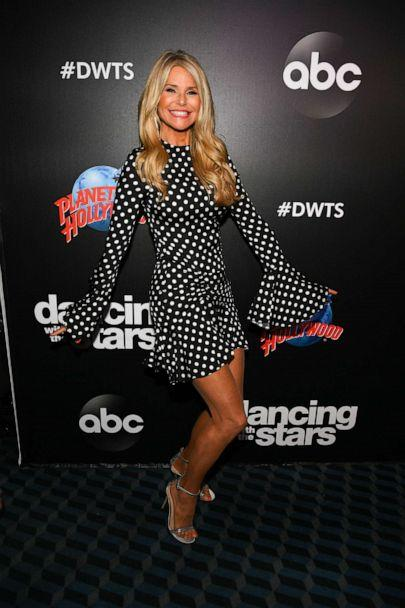 PHOTO: Christie Brinkley arrives at the 2019 'Dancing With The Stars' Cast Reveal at Planet Hollywood Times Square on August 21, 2019, in New York. (Dave Kotinsky/Getty Images for Planet Hollywood International)