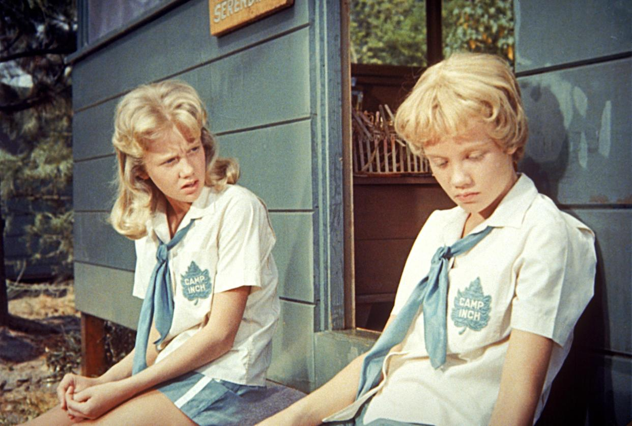 Hayley Mills played twins in Disney's