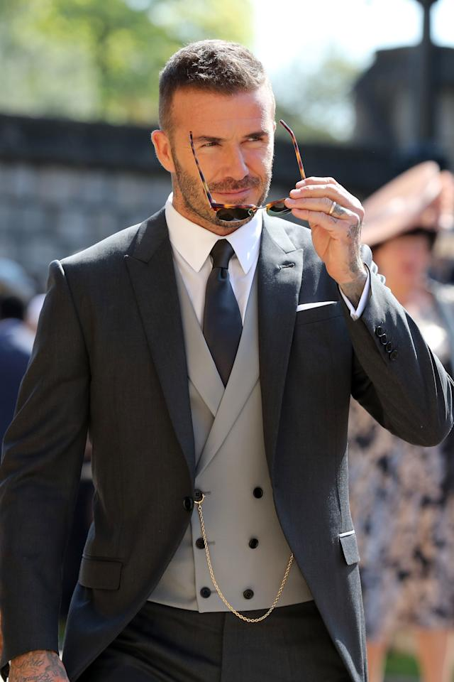 <p>While no one is going to reach the style levels of the great David Beckham, some of these gift ideas might help. Source: Supplied </p>