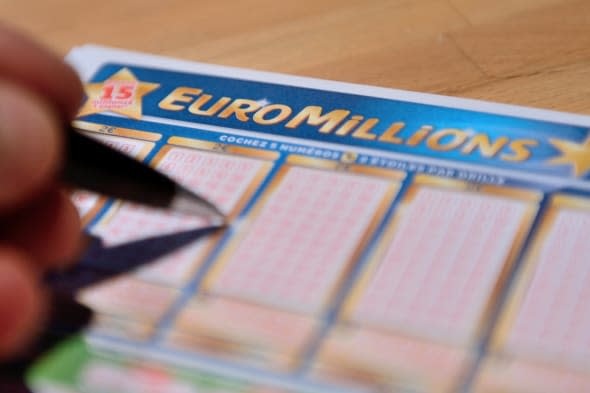 A lucky ticket-holder could scoop a massive £128 million in today's EuroMillions draw.
