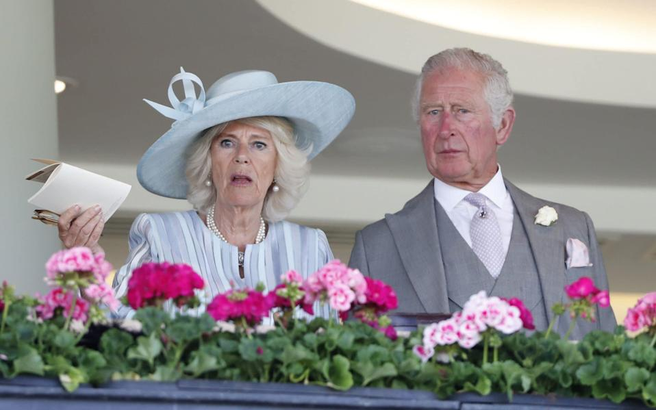 The Duchess of Cornwall and the Prince of Wales attend day one of Royal Ascot - Max Mumby