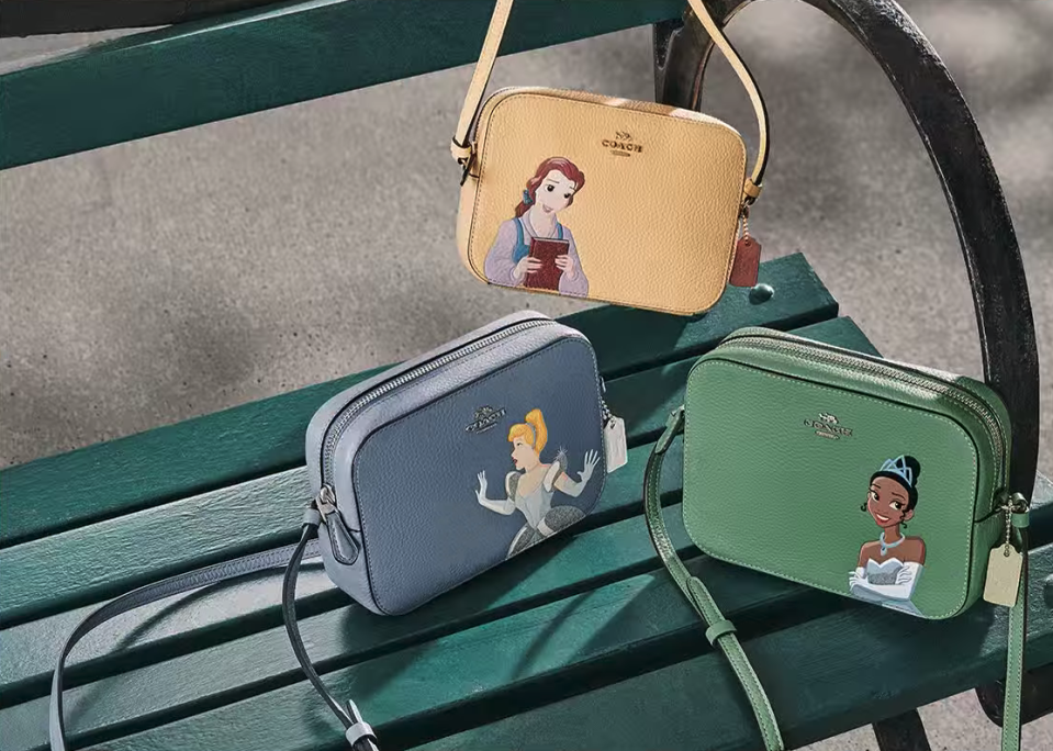The latest Coach Disney collection has arrived. Image via Coach Outlet.