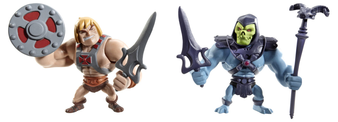 <b>Masters of the Universe Classics Mini He-Man & Skeletor Figures</b><br />Mattel