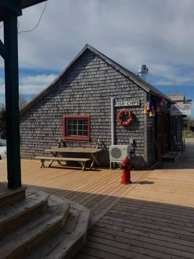 The Go Fish Eatery in Kensington, P.E.I., had opened for the season May 7. (Go Fish Eatery/Facebook - image credit)