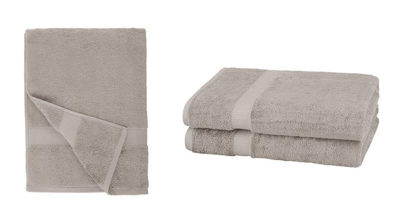 If you have to walk down the hall post-shower, size up to a bath sheet so you have a towel that is full coverage.