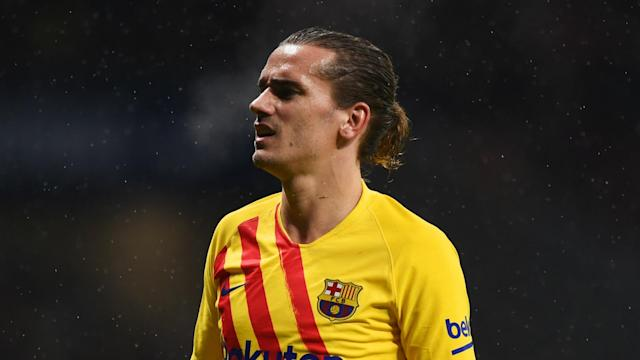 Antoine Griezmann finished third in the Ballon d'Or standings 12 months ago but the Barcelona ace has slipped down to 18th this time around.
