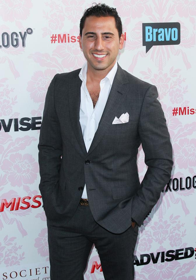 "Josh Altman attends the viewing party for Bravo's new series ""Miss Advised"" at the Planet Dailies & Mixology 101 on June 18, 2012 in Los Angeles, California."
