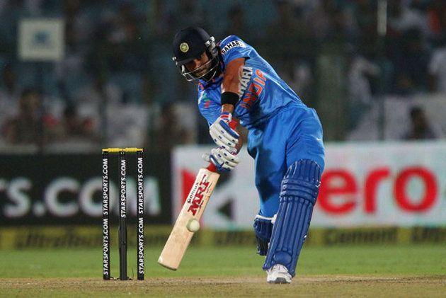Kohli as always in a sublime form