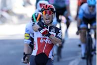 """<p><strong>Who's Winning the Tour?</strong></p><p>To no one's surprise, Julian Alaphilippe and the powerful Deceuninck-Quick Step team had little trouble keeping the yellow jersey on the French rider's back on Stage 3, a transitional stage that led the race away from Nice and toward the mountains. DQS is a hungry team, and it had designs on a sprint win today for Sam Bennett. He'd have gotten it, too, were it not for Lotto-Soudal's Caleb Ewan in a where'd-he-come-from finish to deliver the victory. It's sorely needed: Lotto had the worst start to the Tour <a href=""""https://www.bicycling.com/tour-de-france/a33831814/tour-de-france-start/"""" rel=""""nofollow noopener"""" target=""""_blank"""" data-ylk=""""slk:with a COVID-19 scare"""" class=""""link rapid-noclick-resp"""">with a COVID-19 scare</a> after two staffers tested positive and were quarantined, and then lost Philippe Gilbert and John Degenkolb to Stage 1 crashes.</p><p><strong>Who's <em>Really</em> Winning the Tour?</strong></p><p>In this strange Tour, Alaphilippe and DQS's typical aggressive tactics may actually be the smartest move in the fight for the general classification. No one can predict what the next few weeks hold and how many riders make it to Paris, or if the race has to stop short. So getting the goods while the getting is good is…good, and no team is more temperamentally suited to that approach than DQS. None of the yellow jersey hopefuls lost time today on a relatively quiet stage, but spare a thought for Cofidis's <a href=""""https://sports.yahoo.com/perez-abandons-tour-france-stage-155527230.html"""" data-ylk=""""slk:Anthony Perez;outcm:mb_qualified_link;_E:mb_qualified_link;ct:story;"""" class=""""link rapid-noclick-resp yahoo-link"""">Anthony Perez</a>, who did the hard work in the break to take the lead in the climber's jersey competition, but won't get to wear it after crashing out on the day's big descent with a broken collarbone.</p>"""