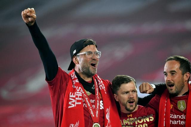 Klopp guided Liverpool to their first league title in 30 years