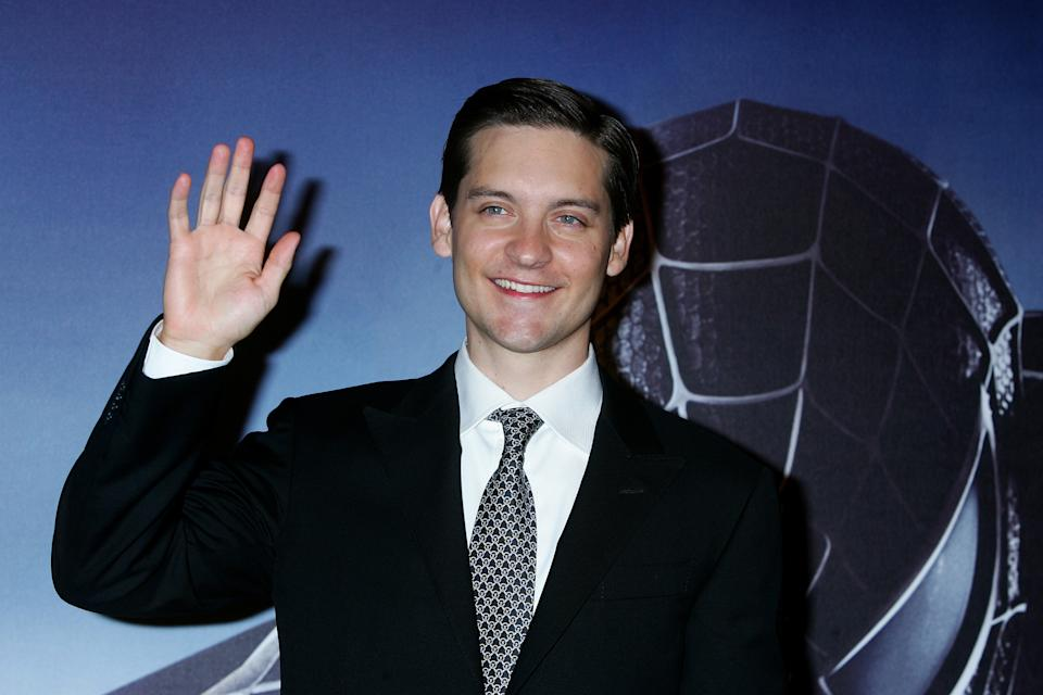 FRANCE - APRIL 27:  'Spider-Man 3' Premiere In Paris, France On April 27, 2007 - Tobey Maguire.  (Photo by Serge BENHAMOU/Gamma-Rapho via Getty Images)