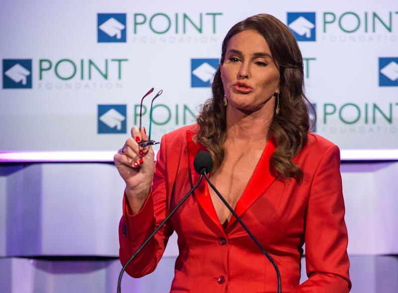 Caitlyn Jenner has said she will no longer be talking about politics. (Photo by Paul A. Hebert/Invision/AP)