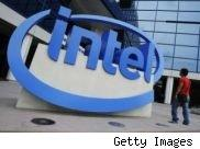 Picture of the Intel logo