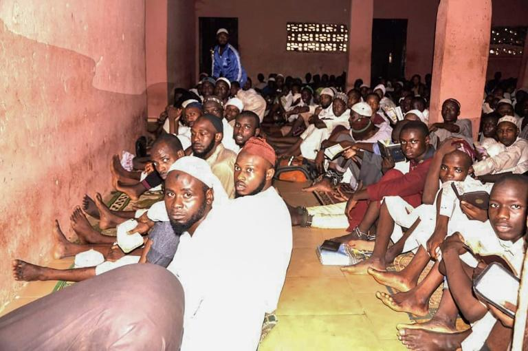 Hundreds of men and boys were found being held in atrocious conditions in a Kaduna compound described as a religious school and rehabilitation centre (AFP Photo/-)