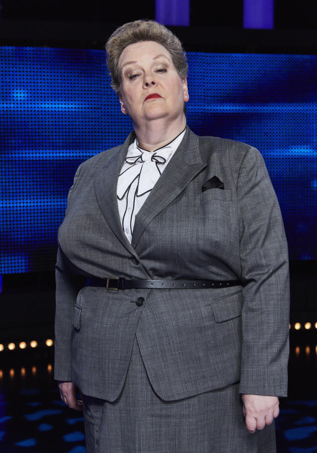 Anne Hegerty has been on The Chase for a decade. (ITV/Matt Frost)