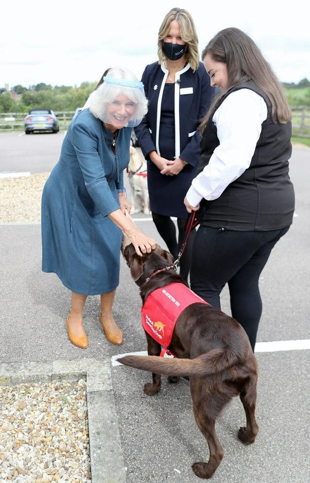 Duchess of Cornwall visit to