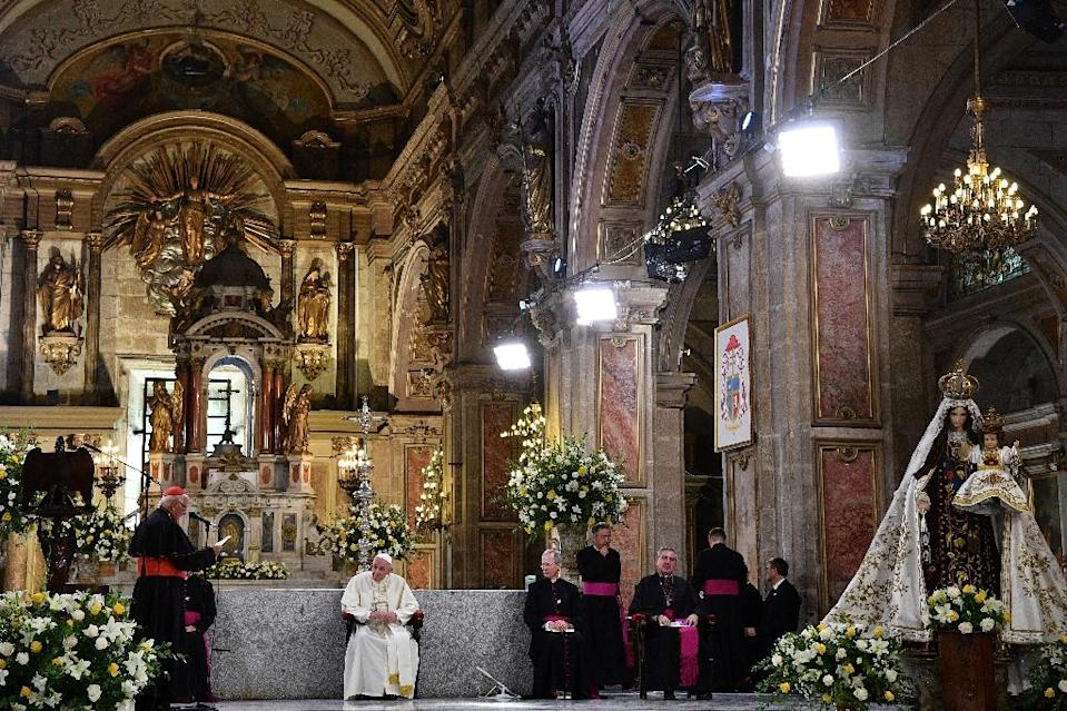 Although most Chileans still identify as Catholic, a growing number feel that the church simply doesn't represent them (AFP Photo/Vincenzo PINTO)