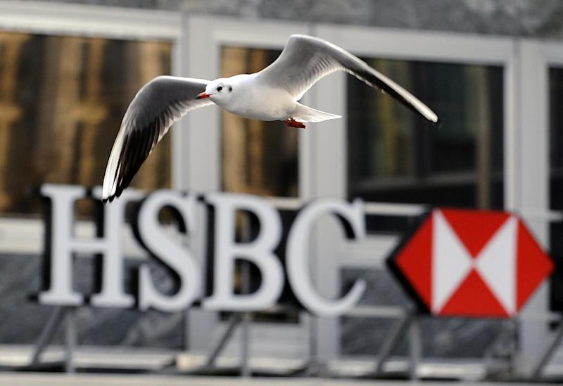 Files claim HSBC's Swiss division helped clients in more than 200 countries evade taxes on accounts containing $119 billion (104 billion euros) (AFP Photo/Fabrice Coffrini)