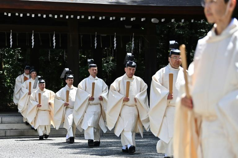 The emperor's enthronement ceremonies in Japan are steeped in Shinto ritual