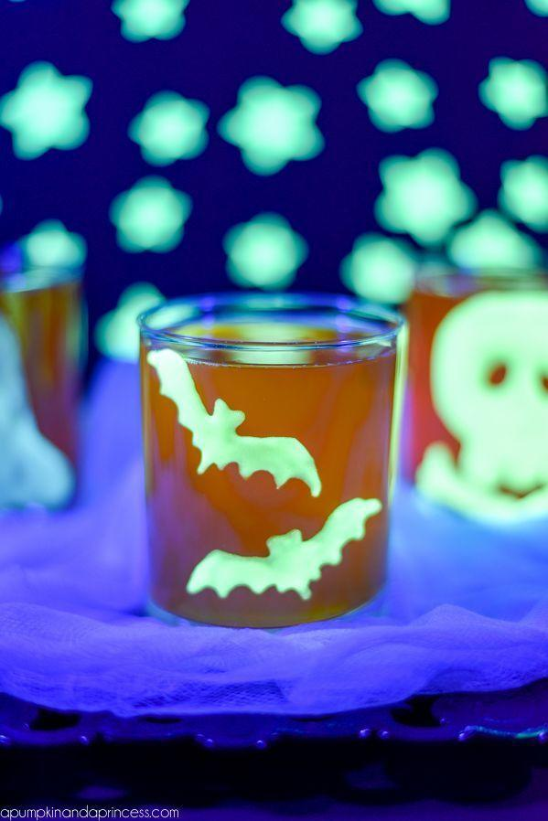 """<p>Though bats and skulls are a great choice for Halloween, you could also design leaves, pumpkins, or other fall-inspired shapes. </p><p><a class=""""link rapid-noclick-resp"""" href=""""https://apumpkinandaprincess.com/glow-in-the-dark-halloween-clings/"""" rel=""""nofollow noopener"""" target=""""_blank"""" data-ylk=""""slk:GET THE TUTORIAL"""">GET THE TUTORIAL</a></p>"""