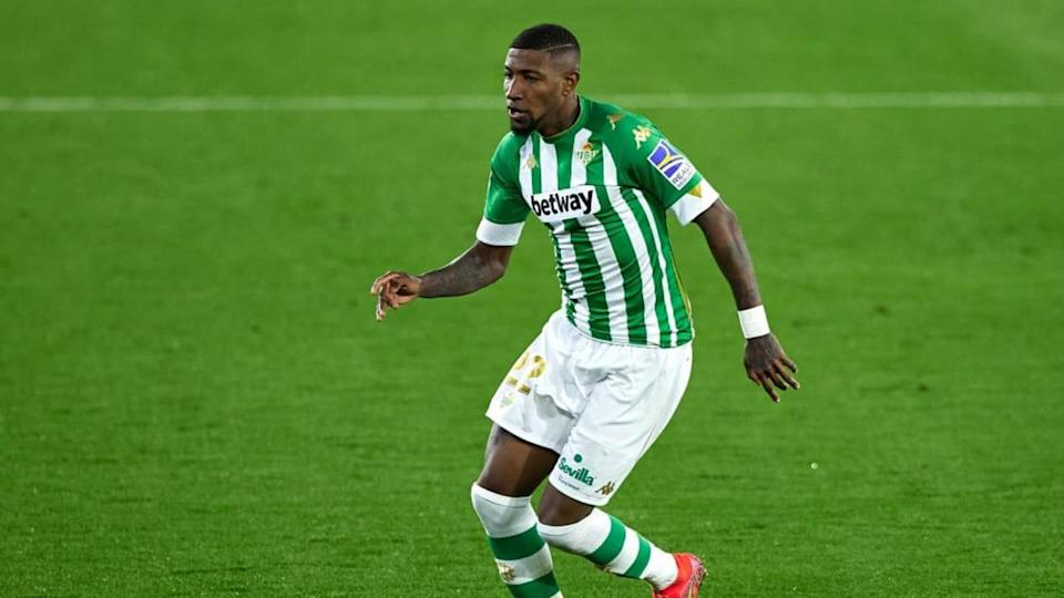 Emerson Royal defende o Real Betis. | Quality Sport Images/Getty Images