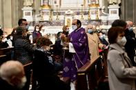 Italy small town priest who dealt with death on an industrial scale, one year on