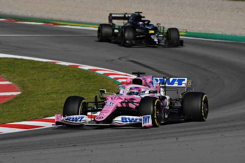 Perez: Racing Point is best vehicle I've ever had to start season