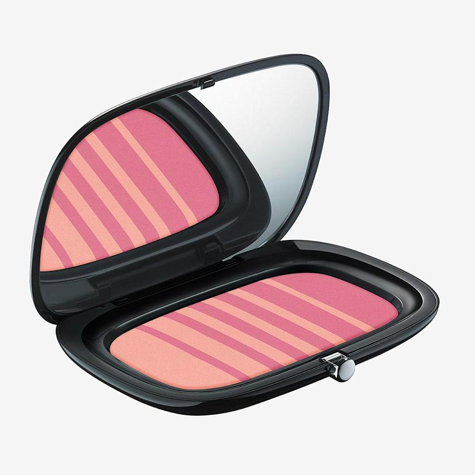 """<p><strong>Rose</strong></p> <p>Rose, like peach, can also help to balance out olive tones. """"This skin tone can get a bit sallow, especially in the winter, but rose can lend warmth so your complexion doesn't look drab,"""" says Murphy. Marc Jacobs Beauty Air Blush Soft Glow Duo in Night Fever & Hot Stuff gives you an instant veil of rosy glowiness, thanks to innovative Japanese air powder. The two shades work together to create a multidimensional look; the lighter shade acts as a highlighter, while the deeper shade contours.</p> <p><strong>$42</strong> (<a href=""""https://www.marcjacobsbeauty.com/air-blush/soft-glow-duo/MJ30002.html"""" rel=""""nofollow noopener"""" target=""""_blank"""" data-ylk=""""slk:Shop Now"""" class=""""link rapid-noclick-resp"""">Shop Now</a>)</p>"""