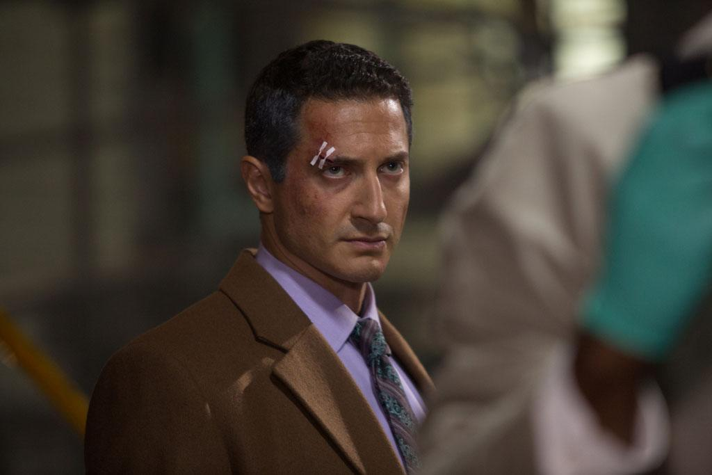 "Sasha Roiz as Captain Renard in the ""Grimm"" episode, ""The Kiss."""