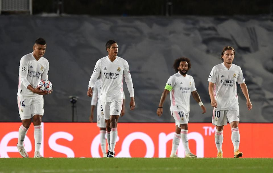 Real Madrid appear vulnerable after two defeats inside a weekGetty