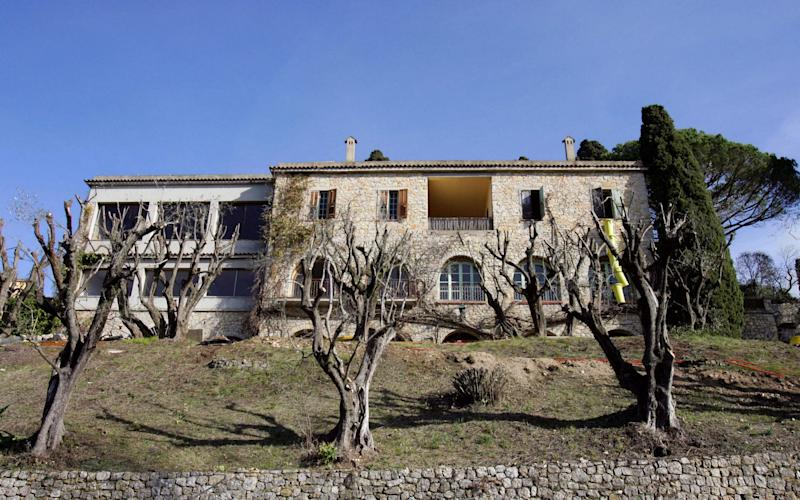The villa in which Pablo Picasso spent the last years of his life - AFP