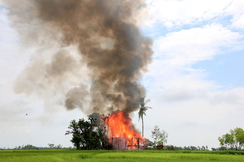 In the latest crackdown, Myanmar's security forces have fired indiscriminately on unarmed civilians, including children, and committed widespread sexual violence, according to UN investigators (AFP Photo/)