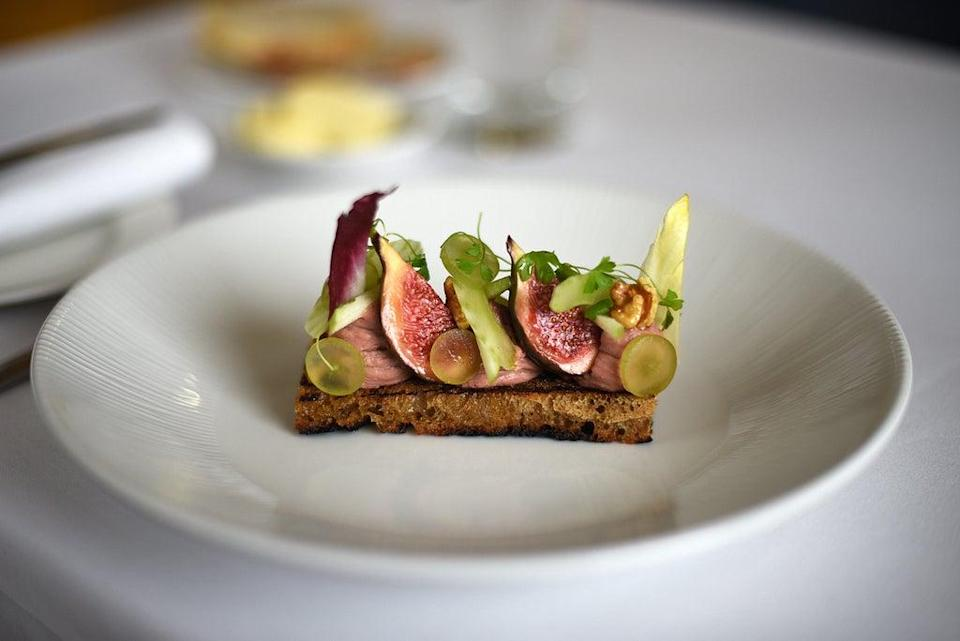 Hart's Hotel uses local seasonal ingredients (The Good Hotel Guide)