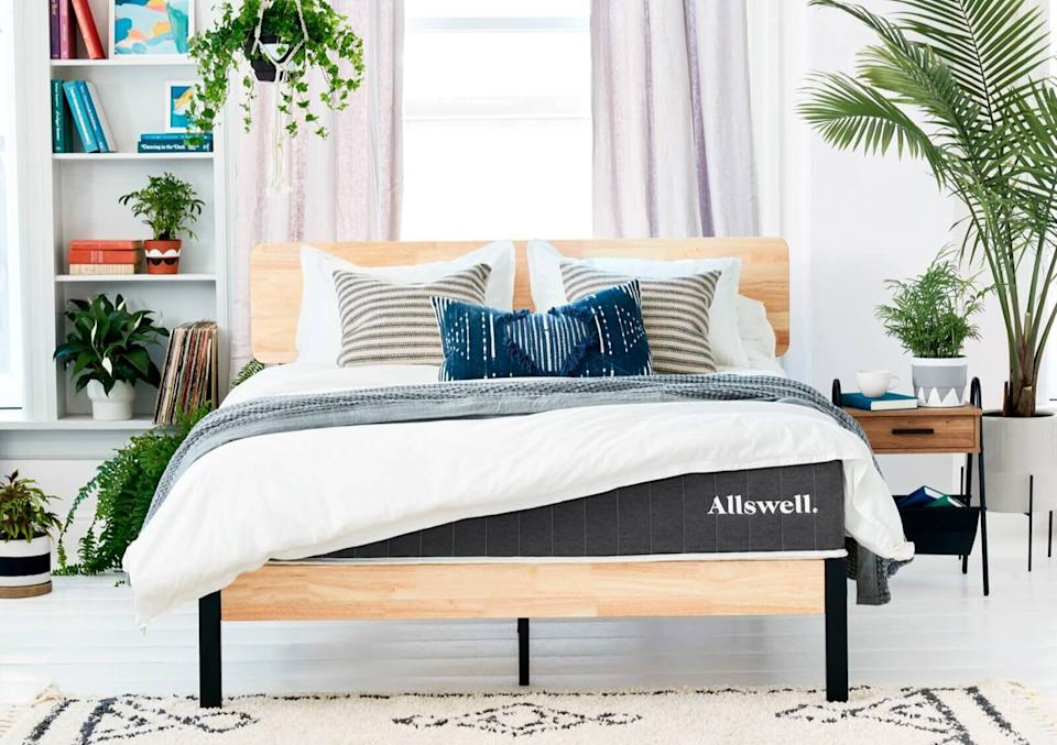 "Does ""The Allswell"" mattress live up to the hype? Our tired-out writer thinks so.  (Photo: Allswell )"