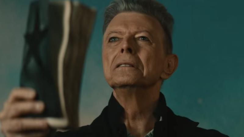 David Bowie in the music video for Blackstar