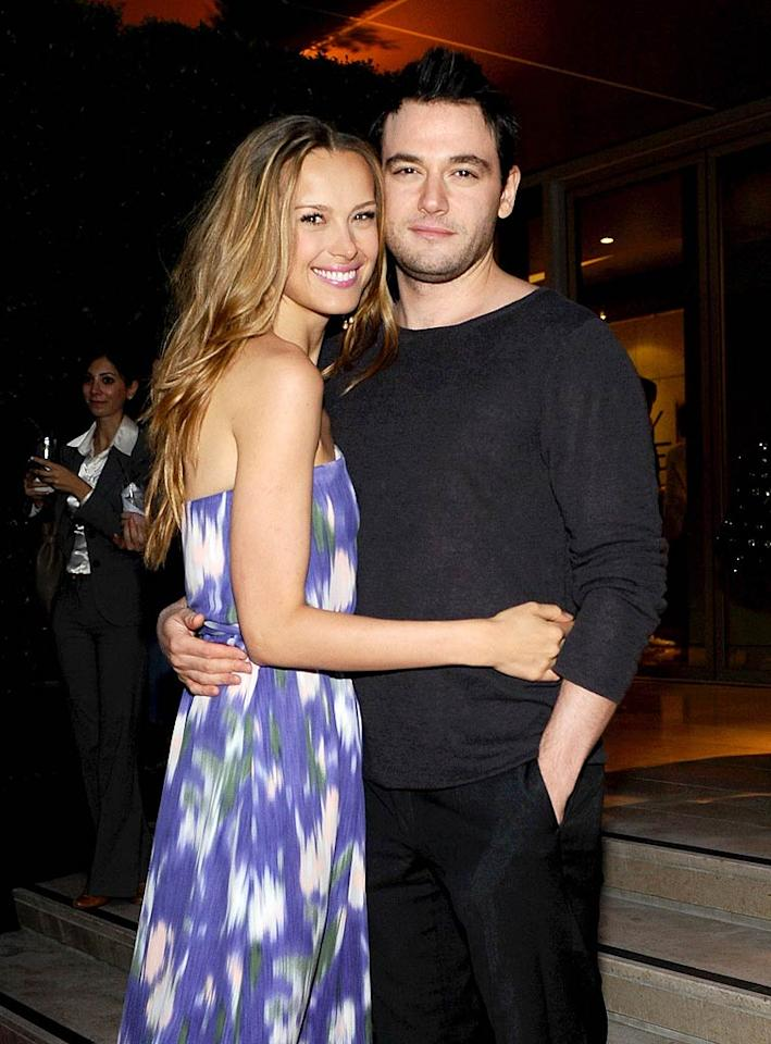 """Petra Nemcova clearly had a much happier love story to tell. The model was snapped cuddling up to her British fiance Jamie Belman. Stefanie Keenan/<a href=""""http://www.wireimage.com"""" target=""""new"""">WireImage.com</a> - May 19, 2011"""