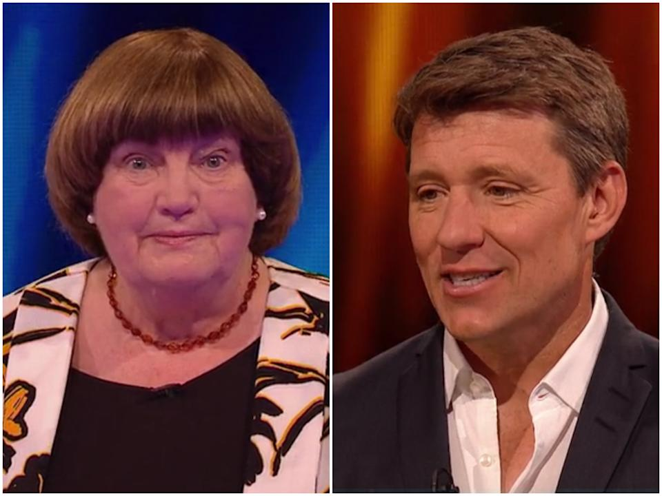 Margaret appeared on Friday's episode of Tipping Point (ITV)