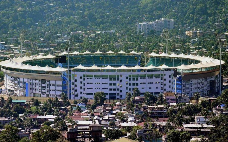Barsapara Cricket Stadium, officially known as Dr. Bhupen Hazarika Cricket Stadium can seat 40,000 spectators