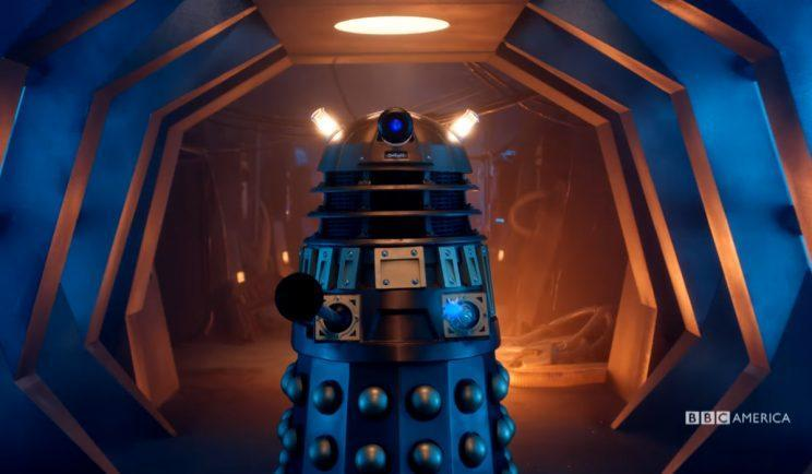 The Doctor takes on the Daleks... again - Credit: BBC