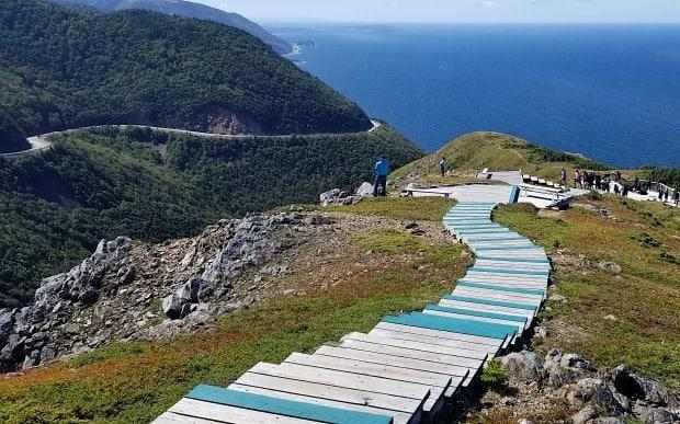 The Skyline Trail in the Cape Breton Highlands National Park. (Brittany Wentzell/CBC - image credit)