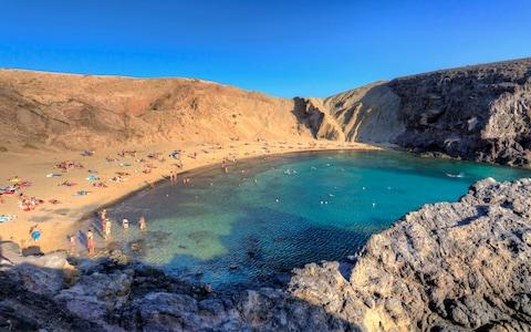 The idyllic Papagayo beaches in Lanzarote - Credit: Michele Falzone