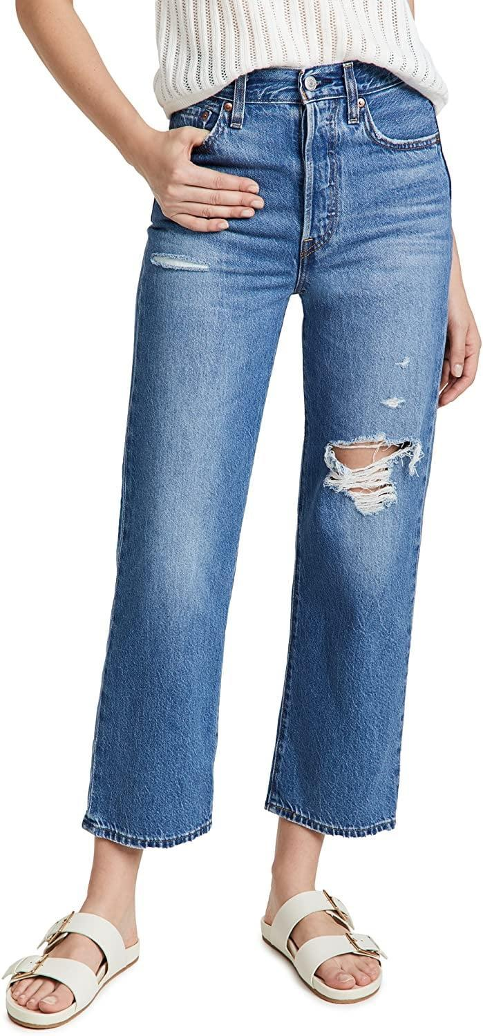 <p>These <span>Levi's Premium Ribcage Straight Ankle Jeans</span> ($108) are always a good idea. They go well with everything, and are the ones you'll constantly reach for.</p>