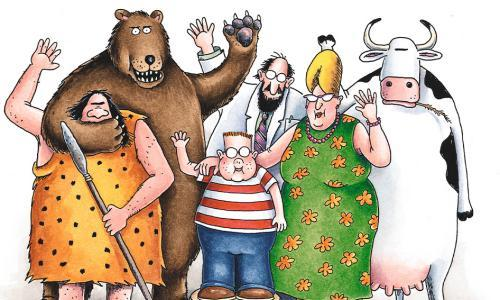 Far Side creator Gary Larson publishes first new cartoons in 25 years