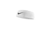 """<p><strong>Nike</strong></p><p>amazon.com</p><p><strong>$17.98</strong></p><p><a href=""""https://www.amazon.com/dp/B00M1E9E0U?tag=syn-yahoo-20&ascsubtag=%5Bartid%7C10049.g.37024274%5Bsrc%7Cyahoo-us"""" rel=""""nofollow noopener"""" target=""""_blank"""" data-ylk=""""slk:Shop Now"""" class=""""link rapid-noclick-resp"""">Shop Now</a></p><p>I mean, the iconic swoosh logo needs to make an appearance at least once during a workout! This headband from Nike was made with their Dri-FIT fabric, which helps keep you dry when you're breaking a sweat.</p>"""