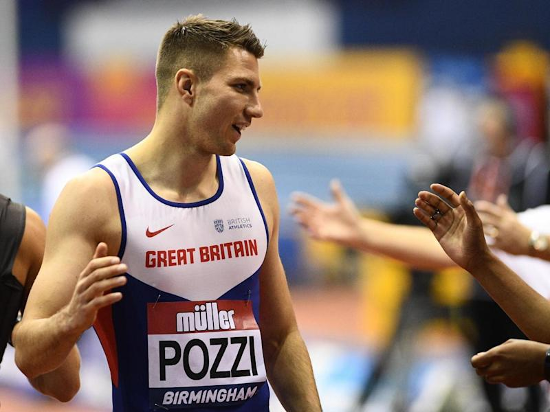 Pozzi is Team GB's first medal hope (Getty)