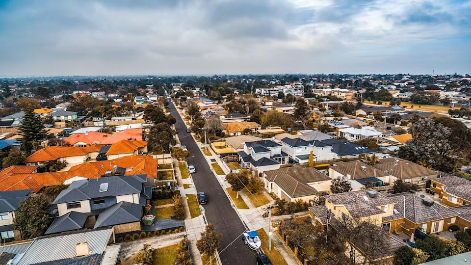 Australian house prices have risen 6.7 per cent in the most recent quarter. (Image: Getty).