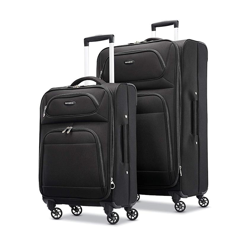 Samsonite Transyt SS 2PC Set. Image via Amazon.