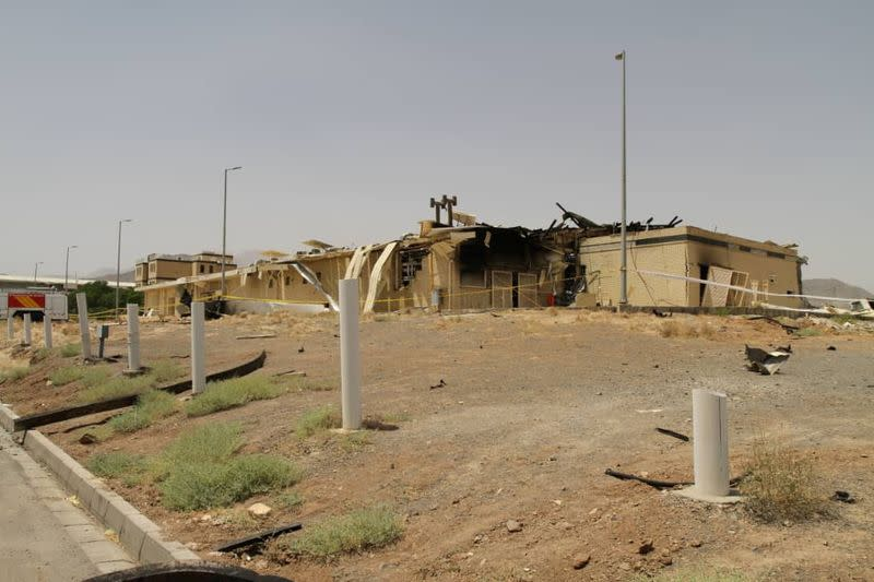 Iran official says sabotage caused fire at Natanz nuclear site - TV