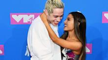 Ariana Grande and Pete Davidson Had a PDA-Filled Red Carpet Debut