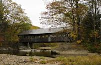 """<p>Closer to the New Hampshire border is Bethel, a town that is home to the Sunday River Covered Bridge. Built in 1872, it's one of the most popular bridges to visit in Maine, according to <a href=""""https://go.redirectingat.com?id=74968X1596630&url=https%3A%2F%2Fwww.tripadvisor.com%2FAttraction_Review-g40515-d107755-Reviews-Sunday_River_Covered_Bridge-Bethel_Maine.html&sref=https%3A%2F%2Fwww.goodhousekeeping.com%2Flife%2Ftravel%2Fg28185739%2Fnew-england-fall-foliage-places%2F"""" rel=""""nofollow noopener"""" target=""""_blank"""" data-ylk=""""slk:Trip Advisor"""" class=""""link rapid-noclick-resp"""">Trip Advisor</a>. </p>"""